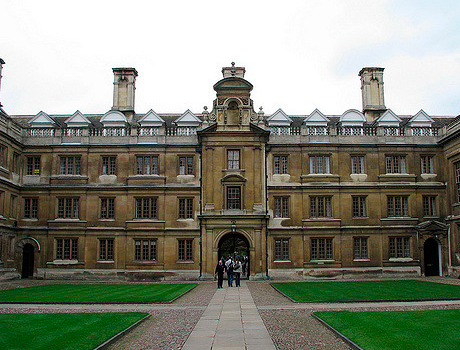 Cambridge University, Clare College | 16-18