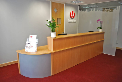 Reception Desks  Office Furniture  Stoneline Designs