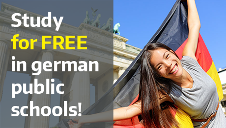 Study for FREE in german public schools!