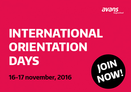 Avans International Orientation Days in Breda Campus