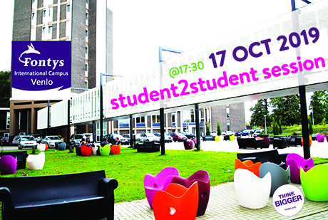 Why study at FONTYS: student2student session
