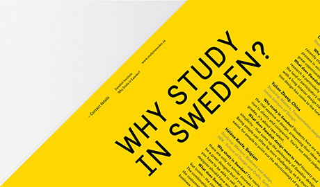 Master Scholarship in Sweden!