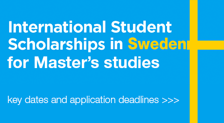 VISBY Master's Scholarships 2017 for international students