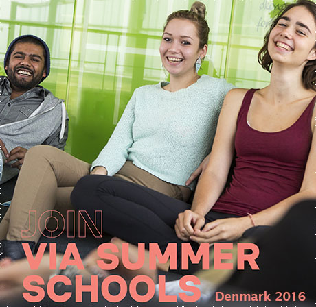 VIA SUMMER SCHOOL, Campus Horsens, again in 2016!