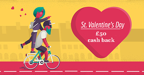 Special St Valentine's offer!